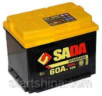 Аккумулятор SADA Standart 6CT-60Аз STD (Левый +)