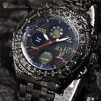 Мужские армейские часы Shark MENS DIGITAL LUXURY ARMY SPORT STAINLESS STEEL