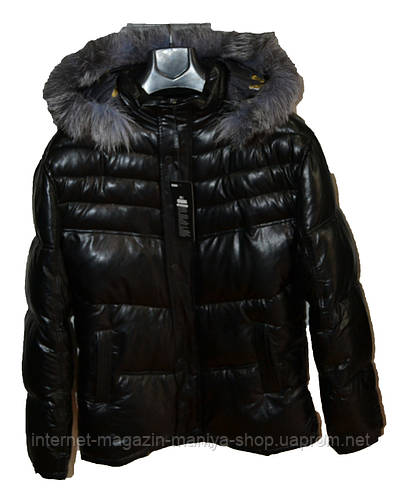 Куртка мужская зима мех иск.