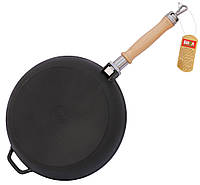 Сковорода чугунная БИОЛ Оптима 0122 (220х45 мм)