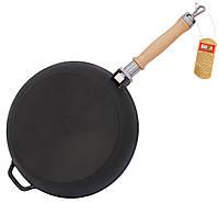 Сковорода чугунная БИОЛ Оптима 0124 (240х45 мм)