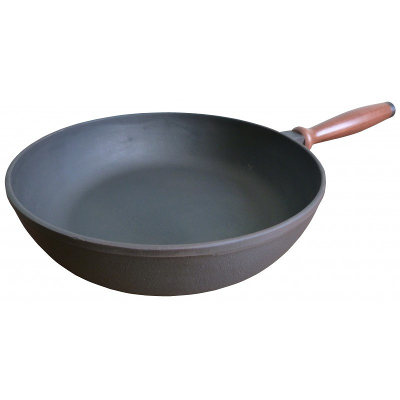 Сковорода чугунная БЕРЛИКА (240х60 мм)