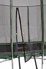 Прямоугольный батут Kidigo 215х150 с сеткой, фото 2
