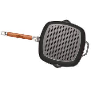Сковорода-гриль чавунна БІОЛ 1026C (260х45 мм), фото 2