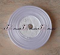 Лента атласная цвет №01(белый) шириной 1,2 см