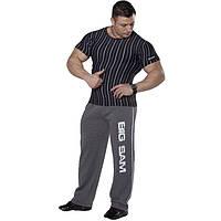 Мужская облегающая футболка BIG SAM 2706