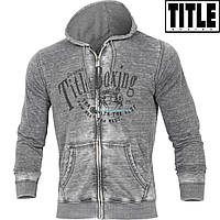Мужская толстовка TITLE Boxing Burnout Full Zip Hoody
