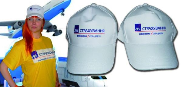 Нанесение логотипа на кепки ,бейсболки