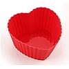 Форма для выпечки Сердечко 6,5*3 см