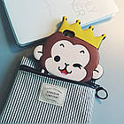 Cute 3D Crown Monkey Love Heart Eyes Soft Silicon Case Back Cover для iPhone 6/6S, фото 4