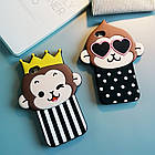 Cute 3D Dot Monkey Love Heart Eyes Soft Silicon Case Back Cover для iPhone 6/6S, фото 2