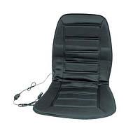 Накидка на сиденье с подогревом черная низкая 12В ДК