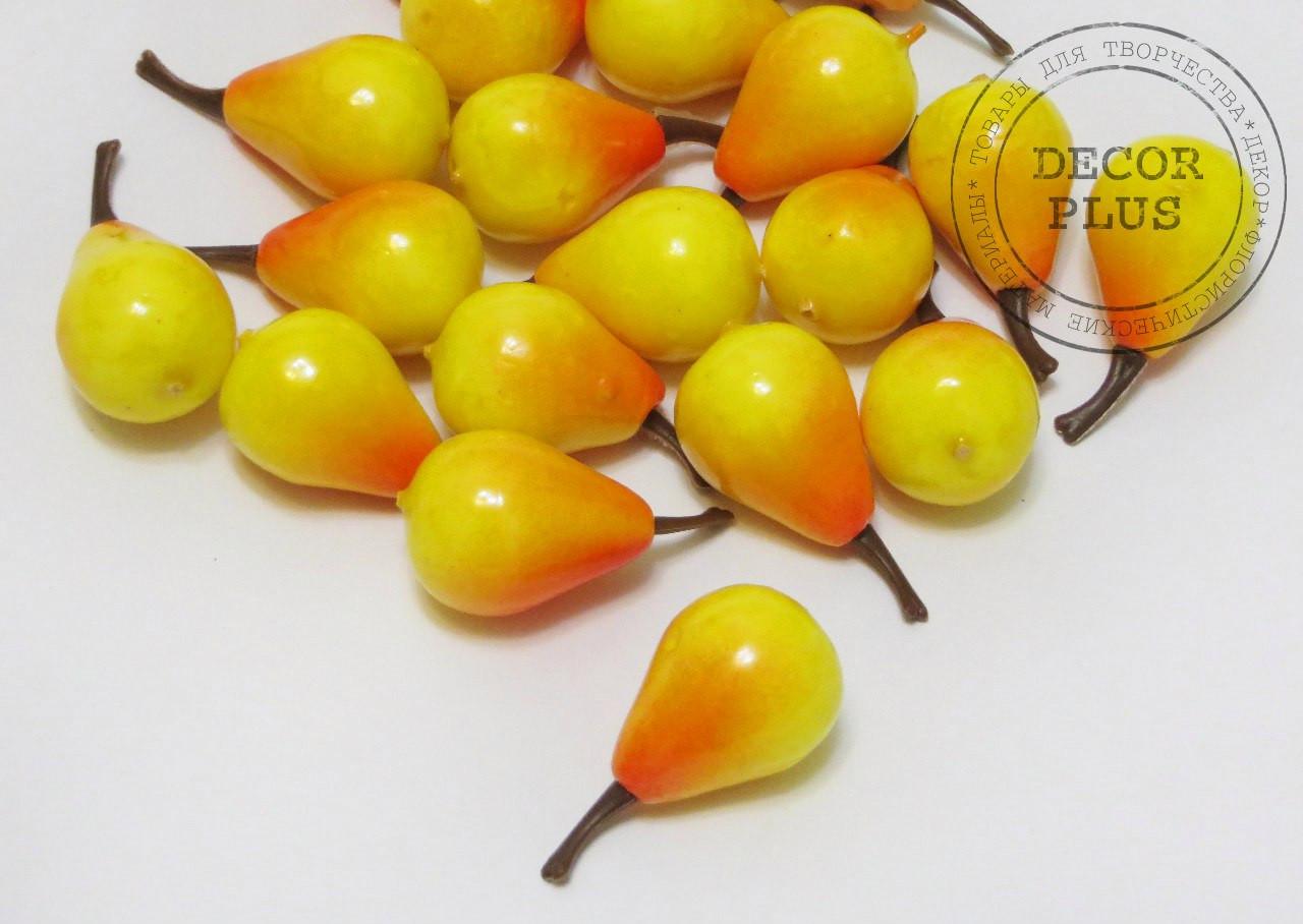 Груша желтая 3*2,2см