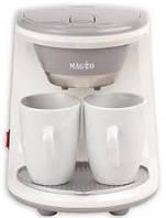 Кофеварка Magio  МG-342 450Вт 2 чашки в комплекте