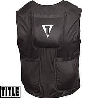 Жилет-утяжелитель TITLE Boxing Power Weighted Vest 18 кг