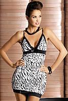 Эротическое женское нижнее белье сорочка Zebra chemise