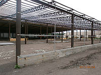 Реконструкция навеса 78х55 в ангар Кировоградская обл., фото 1