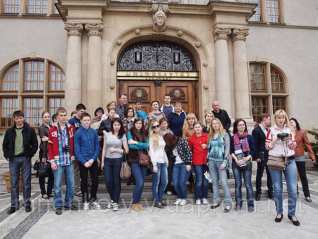 Ознакомительная поездка в Польшу