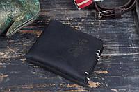 Небольшой мужской кошелек Мини. Качественный портмоне. Натуральная кожа. Ручная работа. Купить. Код: КДН696