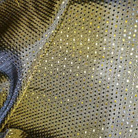 Шелк жаккардовый с отливом золотистый шелк #38