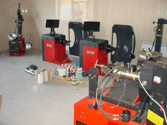 Шиномонтажное оборудование M&B Италия 3