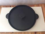 Сковорода гриль в діаметрі 300мм з кришкою пресом, фото 2