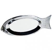 Блюдо для рыбы из нержавеющей стали 40см Kamille 4339