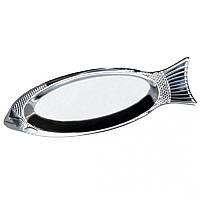 Блюдо для рыбы из нержавеющей стали 35см Kamille 4338