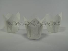 Бумажная формы для маффинов тюльпан