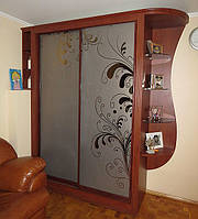 Классический шкаф-купе из пленочного МДФ, фото 1