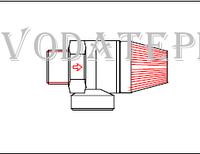 560.33.00.00 Предохранительный клапан 0,3 МПа Termet MiniMax GCO-DP-21-03