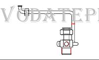 950.00.04.00 Подузел трубы возврата центрального отопления Termet MiniMax GCO-DP-21-03