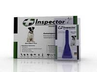 Inspector (Инспектор) капли против внешних и внутренних паразитов для собак от 4 до 10 кг (1 пипетка)