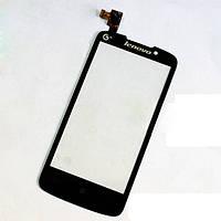 Тачскрин сенсорное стекло для Lenovo A670T black