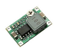 Импульсный DC-DC понижающий преобразователь на MP2307DN, мини-360, вх. 5-23В, вых.   1-17В, Iвых. 1,8А, КПД 96%, 340кГц, размеры 17х11х3,8мм