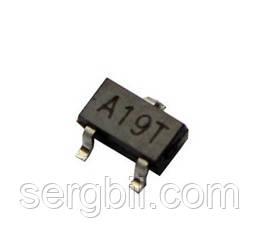 Транзистор полевой AO3401 SOT-23  FET P-ch 30V, 4,2A, Rds-50mOhm