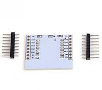 Плата-адаптер для ESP8266 версий ESP-07, ESP-08, ESP-12