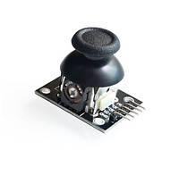Джойстик резистивный две оси, с кнопкой, 5 выводов