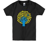 Детская футболка Украинское деревце