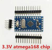 Arduino Pro Mini на микроконтроллере ATmega168,  3,3В 8MHz