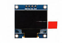 0.96 дюйма OLED LCD дисплей 128 X 64, модуль для Arduino, монохромный  один цвет: белый, интерфейс: I2C, SPI, фото 1