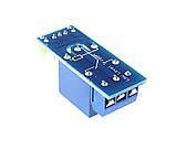 Релейний модуль, 1-канал, живлення 5В, контакти 250В/10А, фото 3