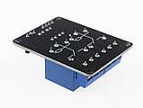 Релейний модуль, 2-каналу з опторазвязкой живлення 5В, контакти 250В/10А, фото 2