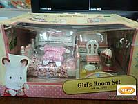 Детский игровой набор Sylvanian Families Спальня для девочки