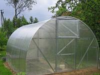 Теплицы 3х4х2 м из поликарбоната 4 мм и оцинкованного профиля