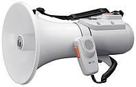 Мегафон наплічний зі свистком ER-2215W TOA