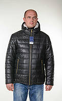 Мужская куртка на меху черного цвета.Новая коллекция Зима 2017!