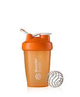 Шейкер с шариком BLENDERBOTTLE CLASSIC LOOP 590ML оранжевый