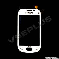 Тачскрин (сенсор) Samsung S5292 Star Deluxe Duos, белый