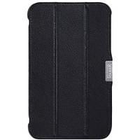 Чехол Обложка i-Carer для Samsung Galaxy Tab 3 7.0 T210 T211 черная